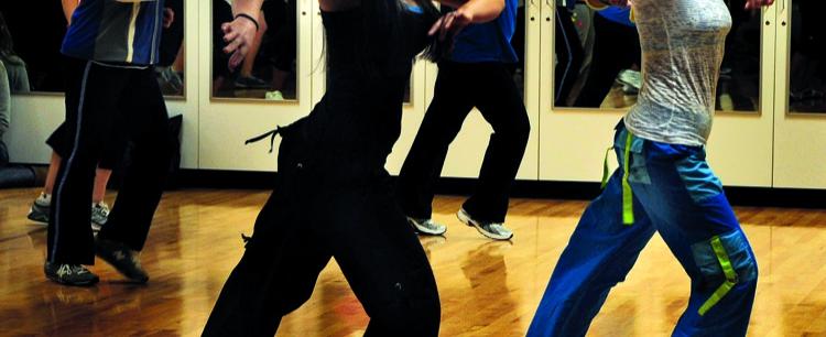Fuzja tańca i aerobiku